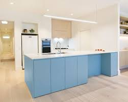 kitchen design ideas renovations u0026 photos with blue cabinets and