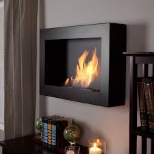 anywhere fireplace soho black satin indoor fireplace hayneedle