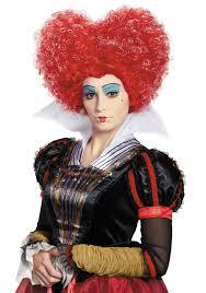 alice in wonderland red queen wig