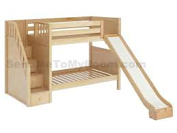 Twin Bed With Slide Good Looking Bunk Bed With Slide Slidejpg - Slides for bunk beds