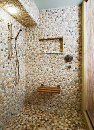 river rock bathroom ideas river rock tile for shower floor roselawnlutheran