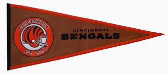 cincinnati bengals pigskin pennant 61706 26 99 teams and