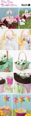 beautiful easter baskets diy easter egg hunt baskets the koch