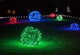 outdoor christmas light balls outdoor christmas yard decorating ideas