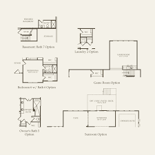 Barrington Floor Plan by Meadowview At Legacy Of Barrington In Barrington Illinois Pulte