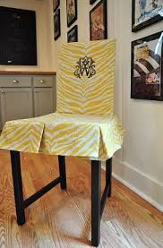 Ikea Bar Stool Covers Ikea Hackers Modern To Traditional Chairs Slip Cover For Stefan