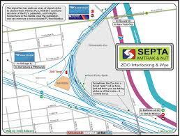 Septa Train Map Zoo Interlocking Map Philadelphia Pa