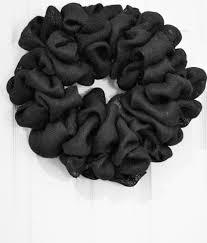 Halloween Picks For Wreaths by Diy Black Burlap Wreath Halloween Wreath Burlap Rustic