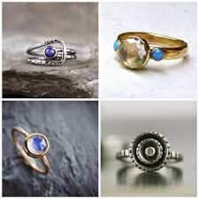 Non Traditional Wedding Rings by Nontraditional Engagement Rings Bold Marigold