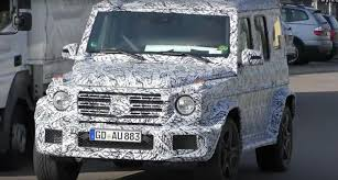 mercedes g class 2018 mercedes g class looks like a tuning project in latest spy