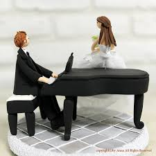 piano cake topper and piano wedding cake topper pianos wedding cake