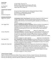 College Senior Resume Examples by Sample Udergraduate Senior Thesis Resume Http Exampleresumecv