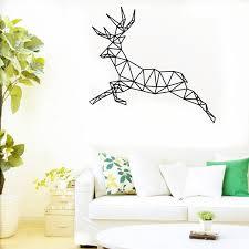 Deer Wall Decor Aliexpress Com Buy Buckoo New Design Diy Deer Wall Sticker