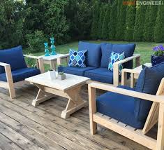 Free Plans For Making Garden Furniture by 429 Best Outdoor Furniture Tutorials Images On Pinterest Outdoor