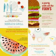 summer barbecue invitations popsugar food