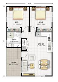pod garage floor plan house with cottages garage traditional granny sydney