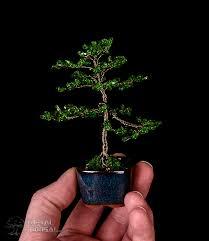 beautiful metal bonsai wire tree sculptures