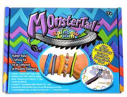 looms bracelet instructions images Monster tail mini loom bracelet toy toys games jpg