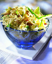 cuisiner du choux blanc recette salade de chou blanc au sésame