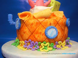 spongebob patrick baby shower cake back view coffee ca u2026 flickr