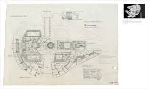 Millennium Falcon Floor Plan by Star Wars The Blueprints Angellist