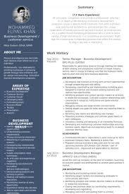 Business Development Resume Examples by Senior Manager Resume Samples Visualcv Resume Samples Database