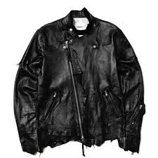 mens riding jackets takahiromiyashita the soloist rough out riders jacket leather