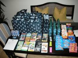 out of town guest bags thought i d my out of town gift bags weddings