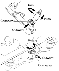 lexus rx300 o2 sensor location repair guides sequential fuel injection fuel rail and