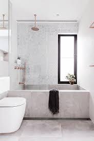 Bathtubs Montreal Concrete Bathtub And Tile Backsplash In Modern Sydney Bathroom Via