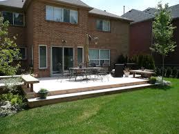 Deck Ideas by Backyard Deck Ideas Ground Level U2014 Home Landscapings Backyard