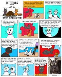 big bird thanksgiving cartoon cat detectives petectives