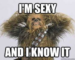 Chewbacca Memes - i m sexy and i know it funny and informative quotes pinterest