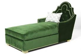 Childrens Chaise Lounge Living Room Stylish Childrens Chaise Longue Plain Green Lounge