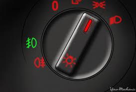 what do fog lights do what do fog indicator warning lights mean yourmechanic advice