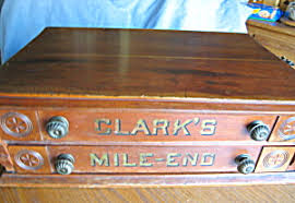 vintage cabinets for sale antique clark s 2 drawer spool cabinet for sale at more than mccoy
