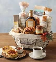 breakfast basket breakfast gift baskets brunch gifts totes wolferman s