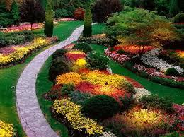 perennial flower garden full sun landscaping gardening ideas