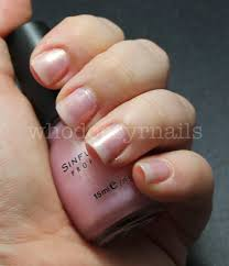 sinful colors nail polish swatch u2013 sinful colors glass pink swatch