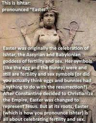 the pagan origin of easter japan