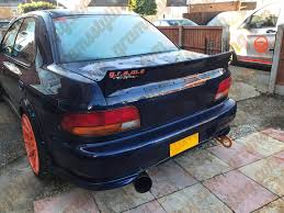 subaru gc8 coupe subaru impreza ducktail spoiler gramsstyling co uk