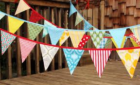 Bunting Flags Wedding Custom 30 Foot Bunting Wedding Party Flags Birthday
