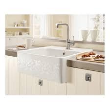Belfast Kitchen Sink Villeroy Boch Butler 60 595mm X 630mm White Pearl Design Single