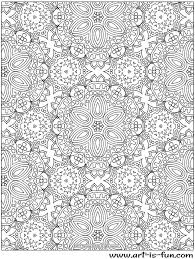 Free Abstract Pattern Coloring Page Detailed Psychedelic Art By Free Intricate Coloring Pages