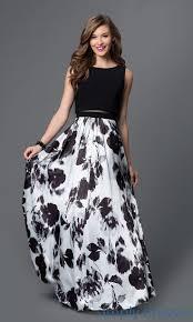 black and white dresses best 25 black and white prom dresses ideas on black