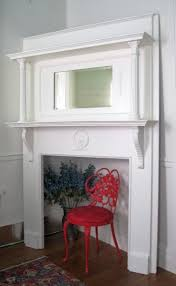 Shabby Chic Fireplace Mantels by Shabby White Chic Victorian Fireplace Mantel Headboard