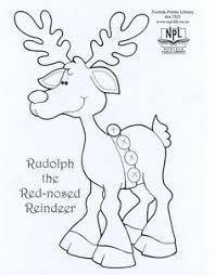 rudolph the red nose reindeer christmas for kids pinterest