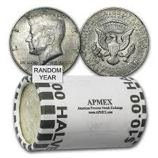 40 silver coins 10 value roll 40 silver by type apmex