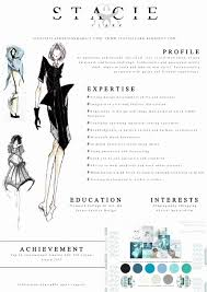 fashion resume templates fashion resume templates best of best 25 fashion cv ideas on