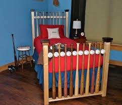 Baseball Bed Frame Baseball Bat And Bed Solid Wood Hardwood Furniture